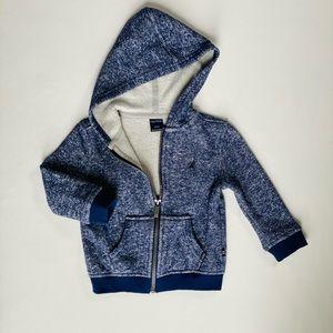 🌟ships free over $25 Nautica baby hoodie jacket